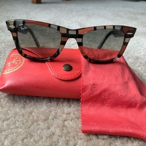 Ray Ban RB 2140 special limited edition print